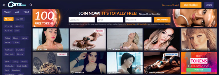 Visit Free Sex Cams, Live Sex Chat 24/7.